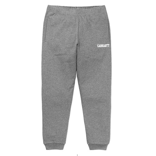 Carhartt WIP Collage Sweat Pant Dark Grey Heather/White