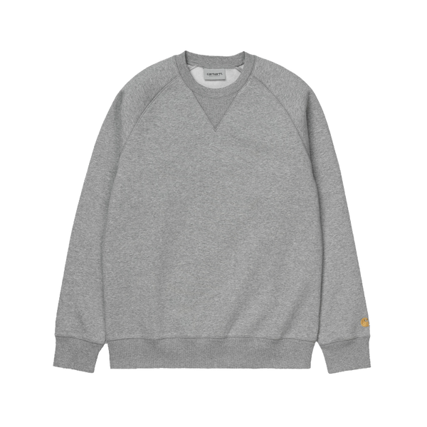 Carhartt Chase Sweat Dark Grey/Gold