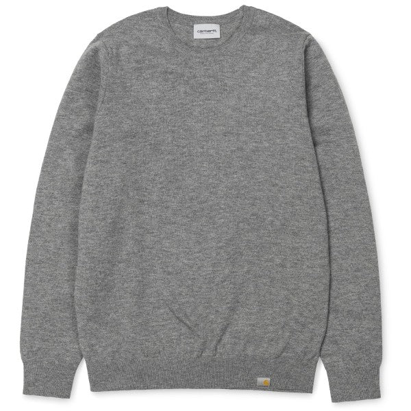 Carhartt WIP Playoff Sweater Dark Grey Heather