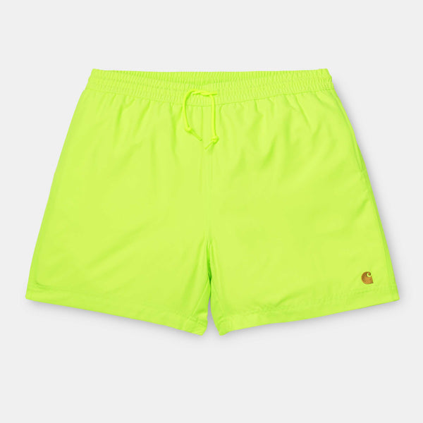 Carhartt WIP Chase Swim Trunk Lime/Gold