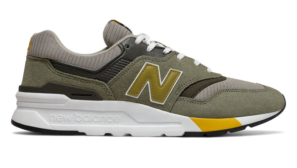 New Balance CM997HEZ Green/Gold