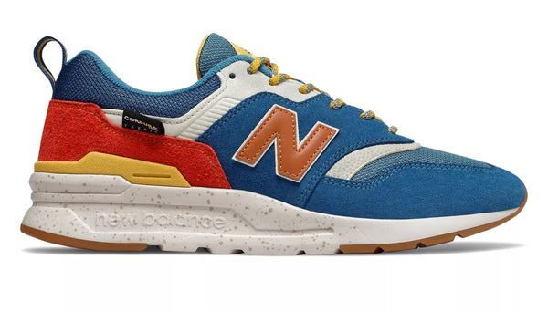 New Balance CM997HFB   Blue/orange