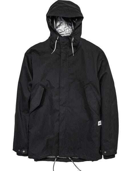 Cleptomanicx Converter Jacket Black