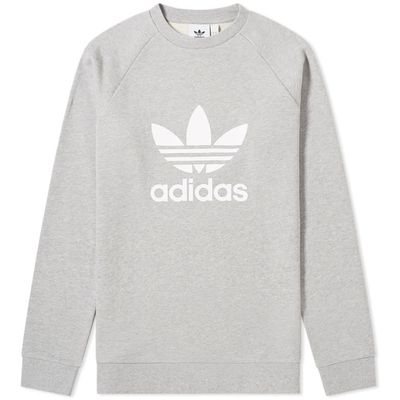 Adidas Trefoil Crew Sweat Grey