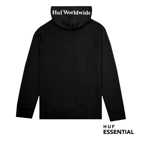 Huf Essentials OG Logo Hood Black