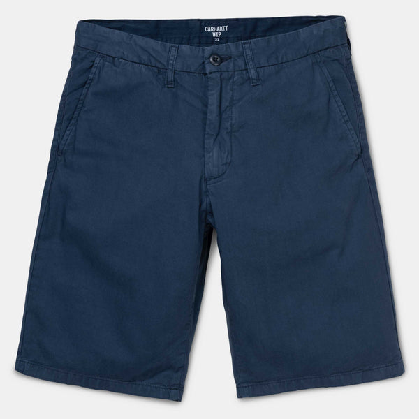 Carhartt Johnson Short Cotton Blue