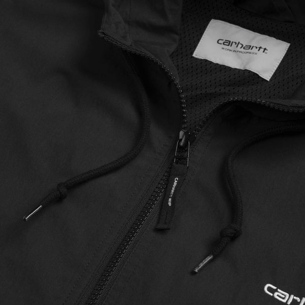 Carhartt WIP Marsh Jacket black white