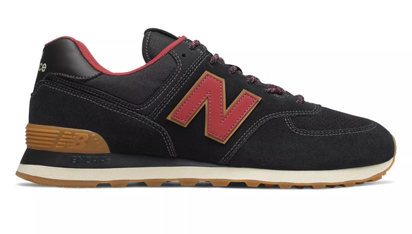 New Balance ML574OTD Black/Burgundy
