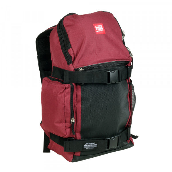 MOB Skateboard Trouble Backpack Red/Black