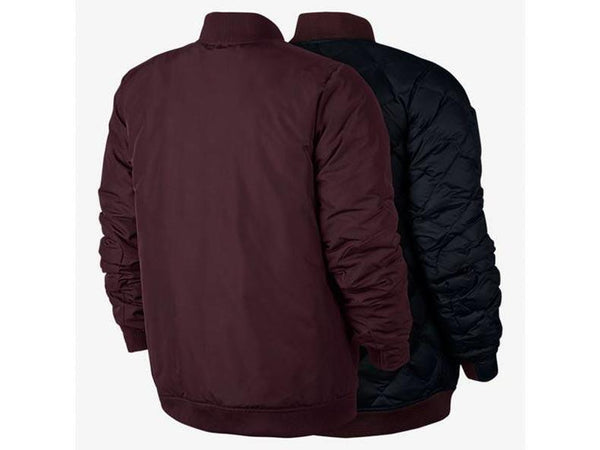 Nike Modern Down Fill Jkt Maroon Black