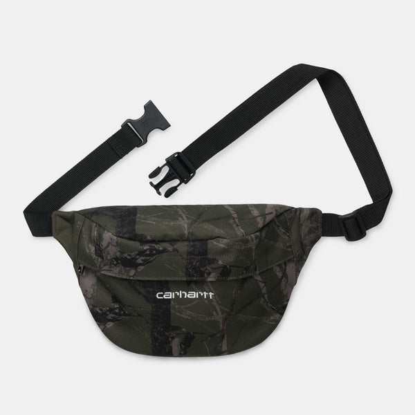 Carhartt Payton Hip Bag camo tree, green / white