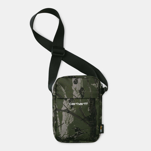 Carhartt WIP Payton Schoulder Pouch  camo tree green /white