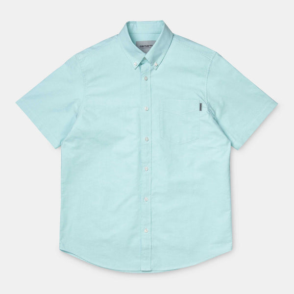 Carhartt WIP S/S Button Down Pocket Shirt Window