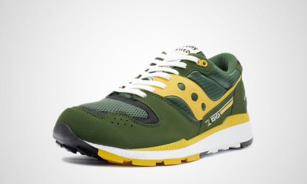 Saucony Azura  - Green/Yellow