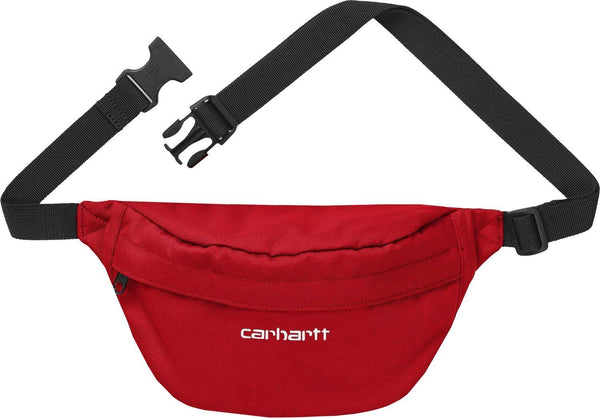 Carhartt Payton Hip Bag cardinal/white
