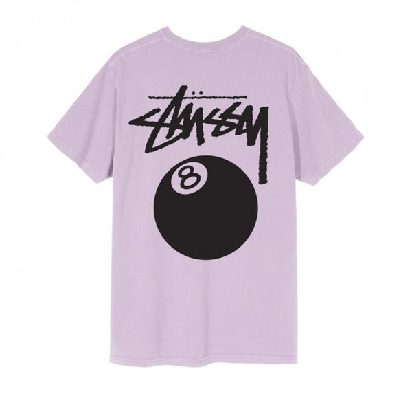 Stussy 8 Ball Pigment Dyed lila