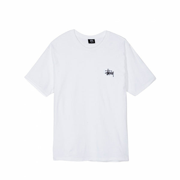 Stüssy Basic Tee white