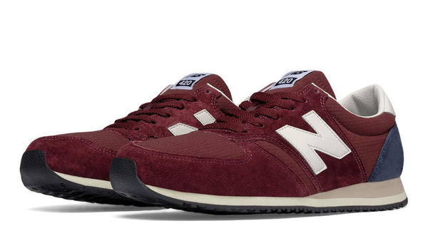 NEW BALANCE U420RBN BURGUNDY/NAVY