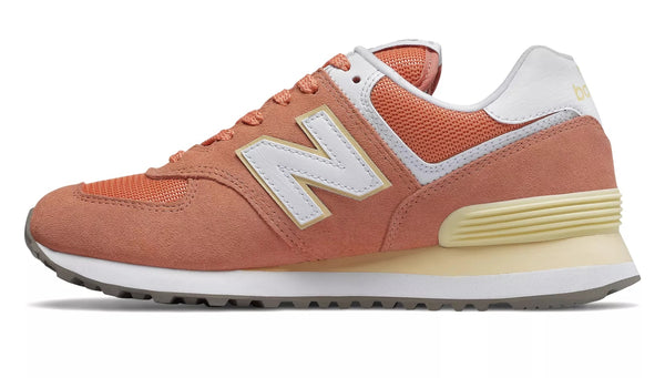 New Balance WL574ESF / Orange/White