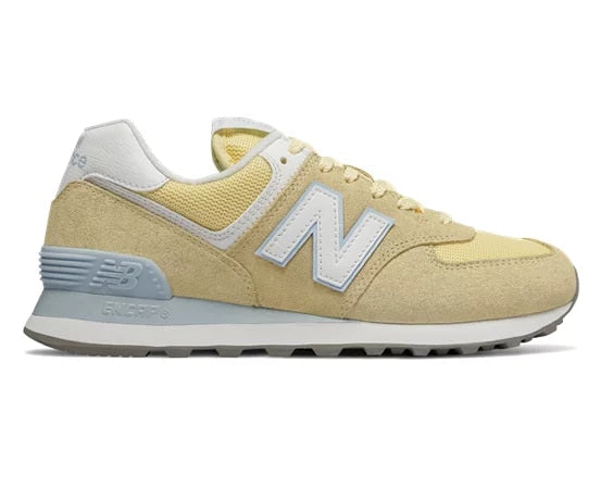 New Balance WL574ESG / Yellow/White