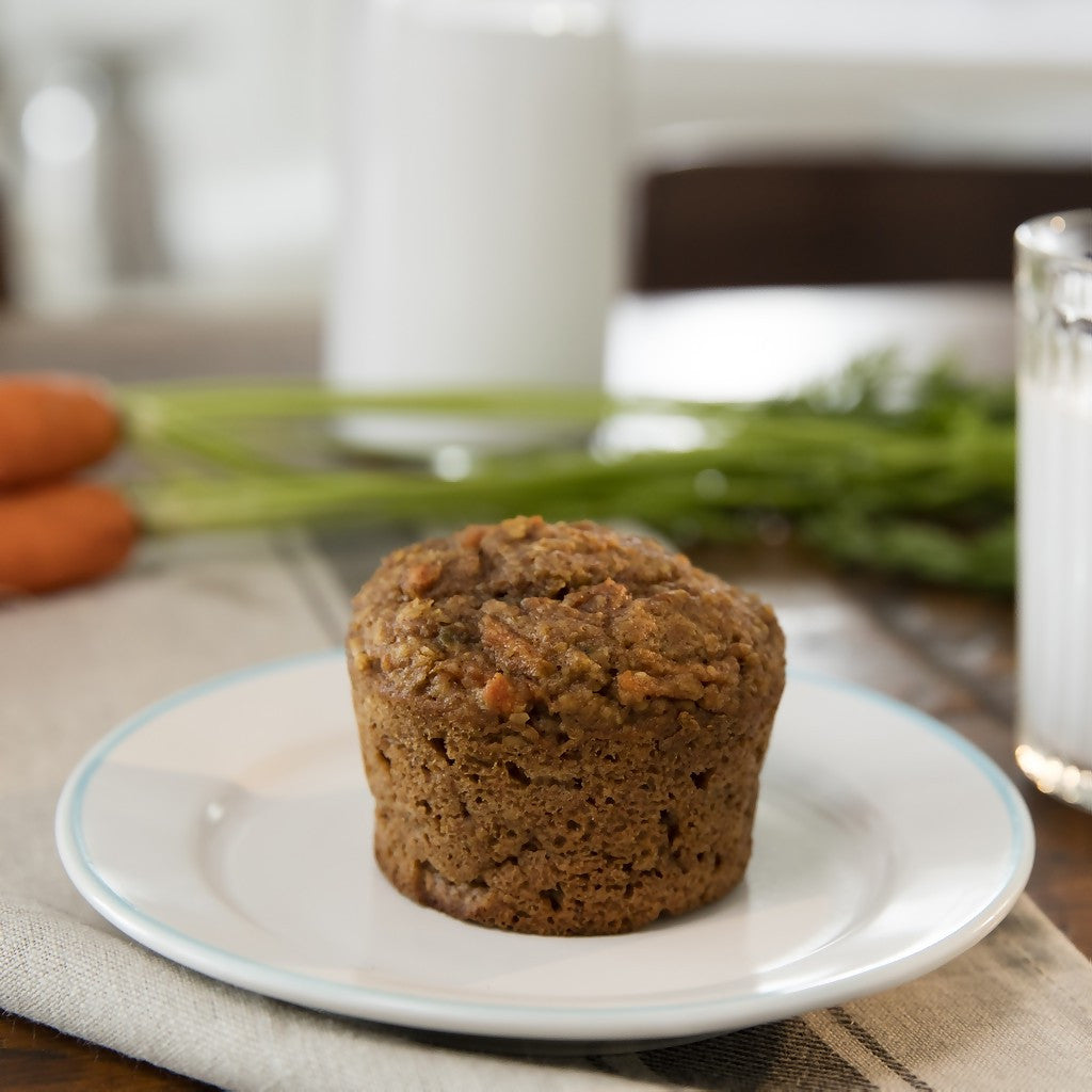 Kid's Healthy Applesauce and Carrot Muffin