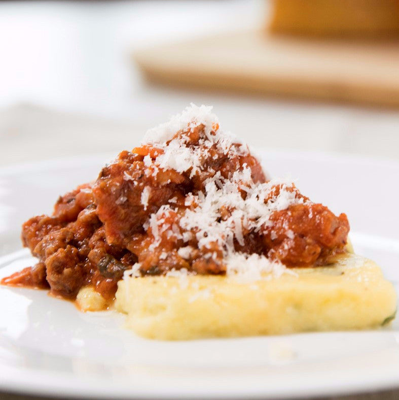 Kids' Beef and White Bean Bolognese