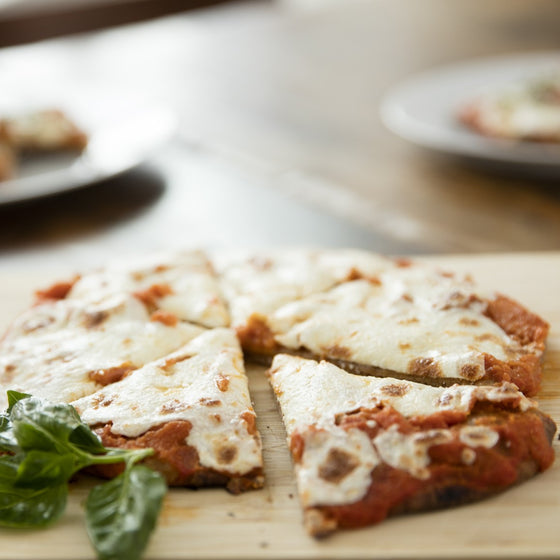 Kids' Whole Grain Cheese Pizza with Tomato Veggie Sauce and Parmesan