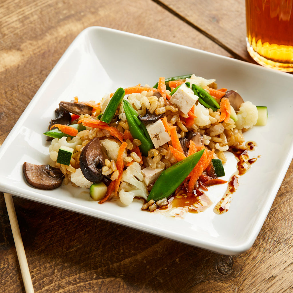 Toddlers' Veggie Fried Rice with Tofu