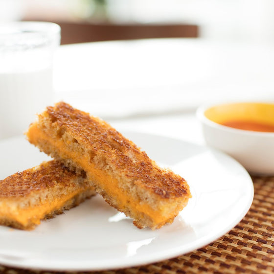 Kids Grilled Cheese and Tomato Soup