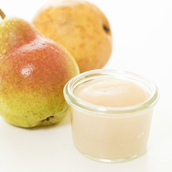 Fresh Organic Pear Baby Food