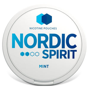 Nordic Spirit Nicotine Pouches Mint 9mg