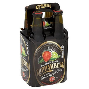 Kopparberg Strawberry & Lime 4x330ml