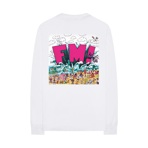FM! x VERDY L/S T-SHIRT + DIGITAL ALBUM