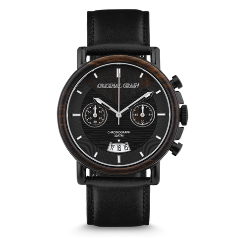 Chrono Ebony / Black Leather