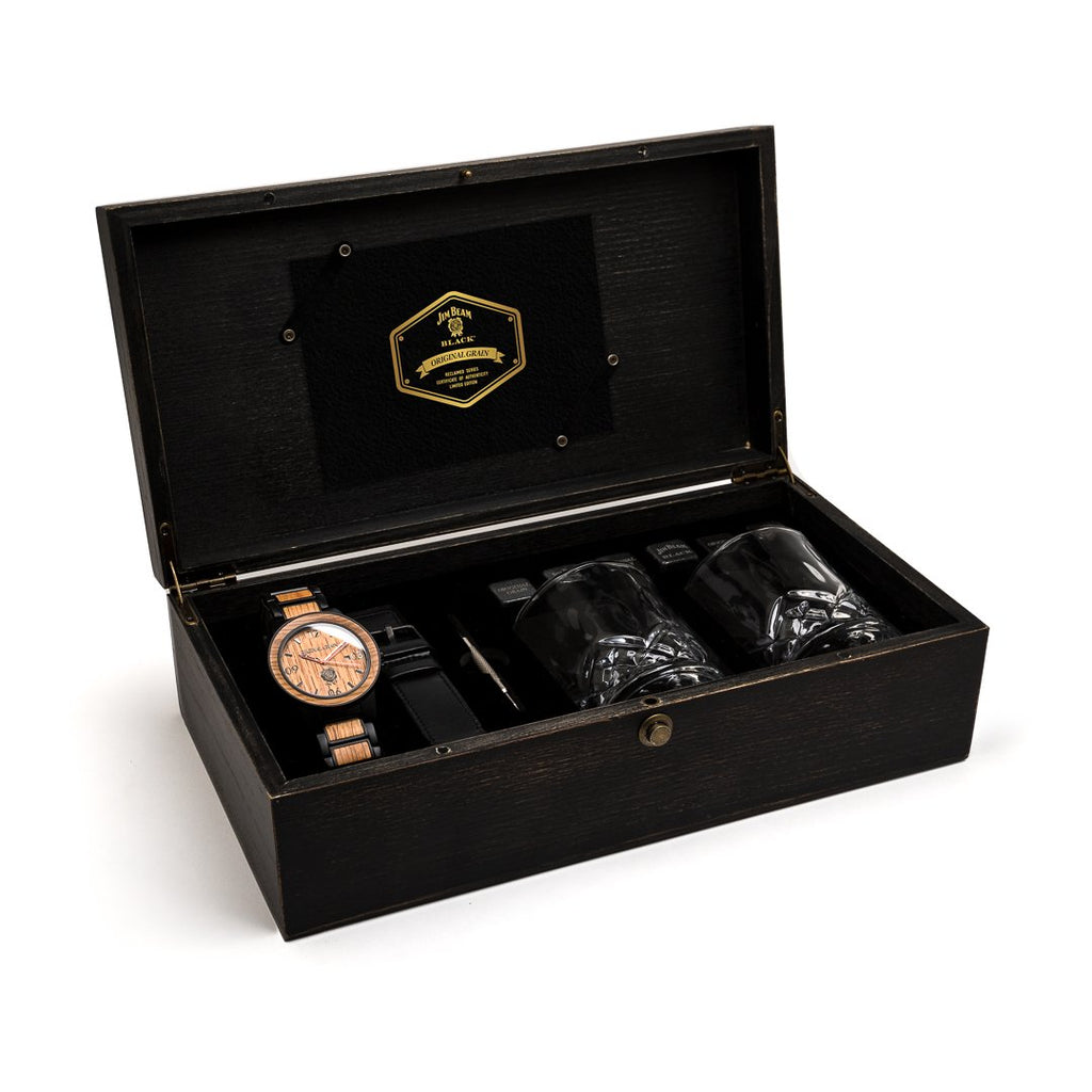 Jim Beam Black® Gentleman's Kit by Original Grain