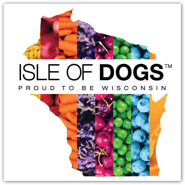 Window Cling - Isle of Dogs Wisconsin Proud