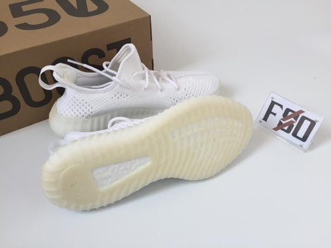 Authentic Adidas YEEZY BOOST 350 v2 Cream White CP9366 with
