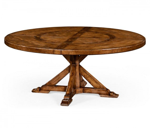 Dining Table With Inbuilt Lazy Susan