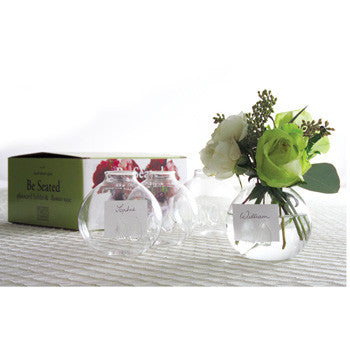 Place Card Holder/Flower Vase Set Of Four