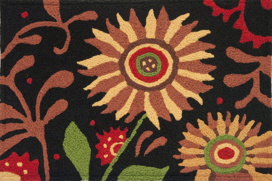 Prairie Sunflower memory Foam Rug