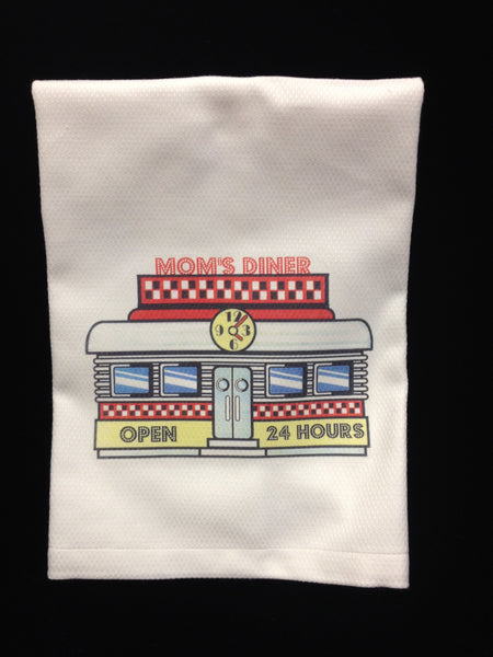 Mom's Diner Towel