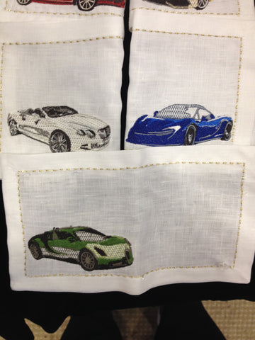 Joy Ride Cocktail Napkin Set