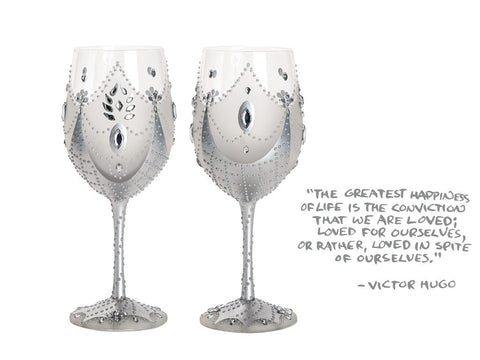 Wine Glass Set of 2