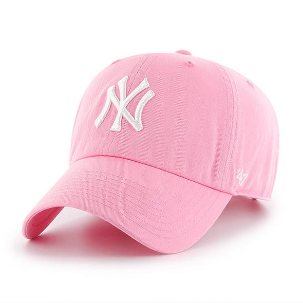 47 Brand CLEAN UP New York Pink Dad Hat