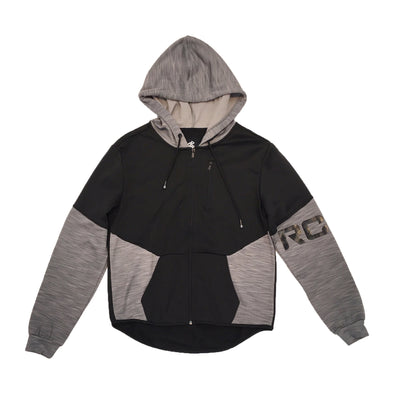ROCAWEAR Zip-up Hoodie (Black) - Fashion Landmarks