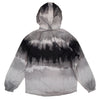 Bleecker & Mercer Tie Dyed Zip-up Windbreaker Jacket