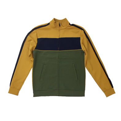 ROYAL BLUE TRACK JACKET (TIMBER/OLIVE) - Fashion Landmarks