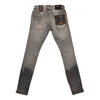 Copper Rivet Zigzag Repair Jean (Grey)