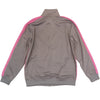 Rebel Minds Track Jacket (Grey/Pink) - Fashion Landmarks