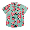 South Pole Water Melon Woven Short Sleeve Shirt